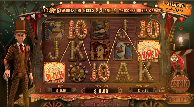 Treasure Fair Slot Machine Game with Jackpot at 777 Casino