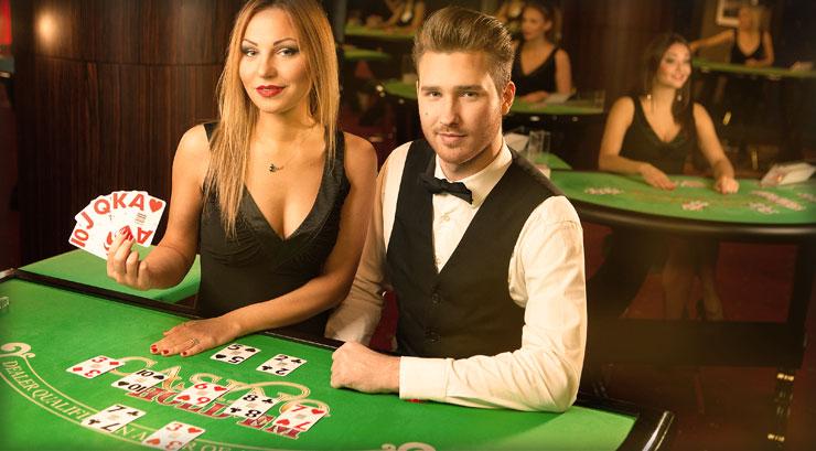 Pontoon gambling