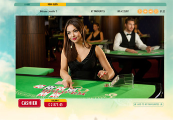 Live Casino Holdem screenshot #1