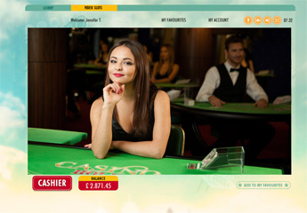 Live Casino Holdem screenshot #2