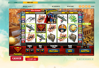 Superman Slot Screenshot #1
