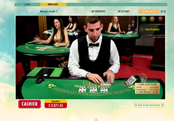 Live 3 Card poker screenshot #2