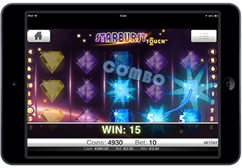 Starburst slots screenshot #1