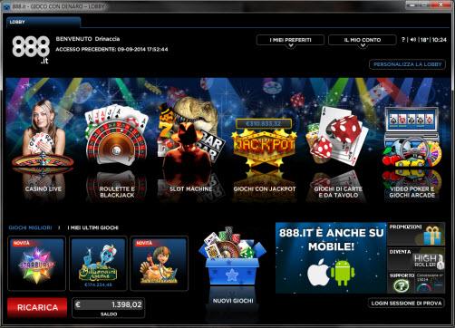 888 it nuovo personal casino