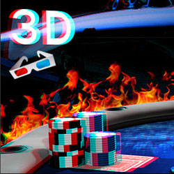 online poker in 3D