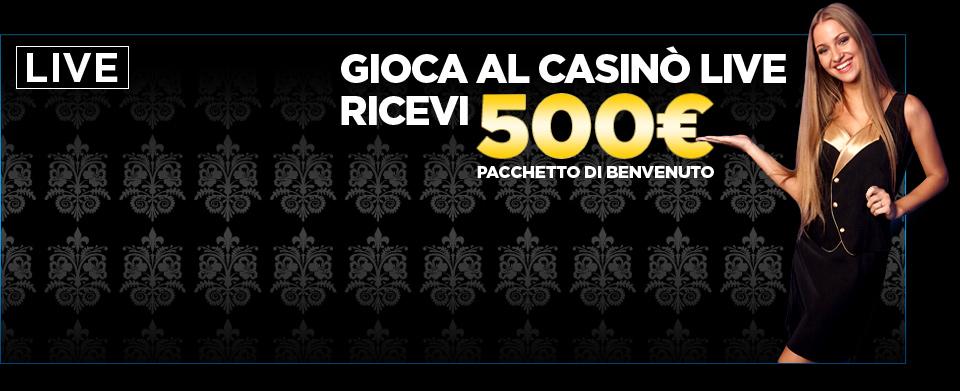 Gioca a Live Casino