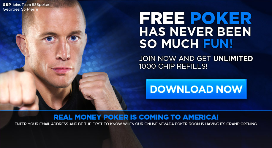 play online poker at 888poker