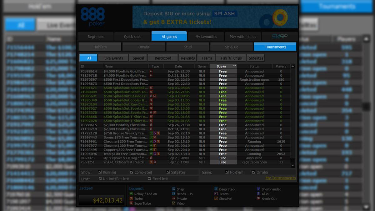 free 888 casinospiele