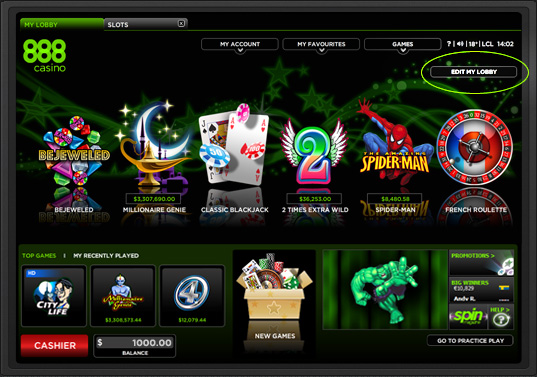 online casino & online poker room   888.com