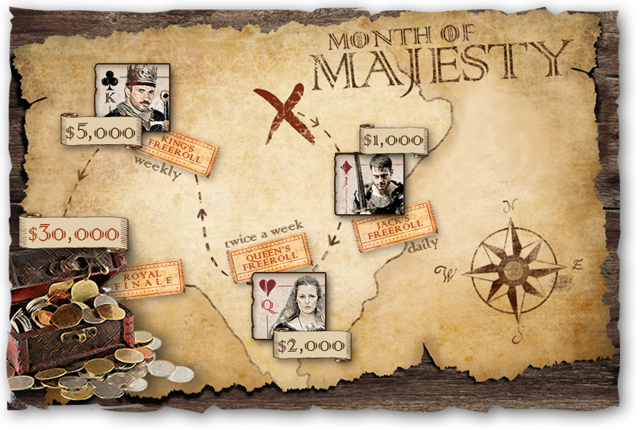 month of majesty map