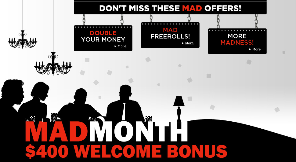 Mad Month promotion at 888poker