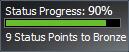 Barra de Progresso do Rewards