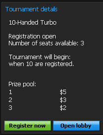 Tournament Details