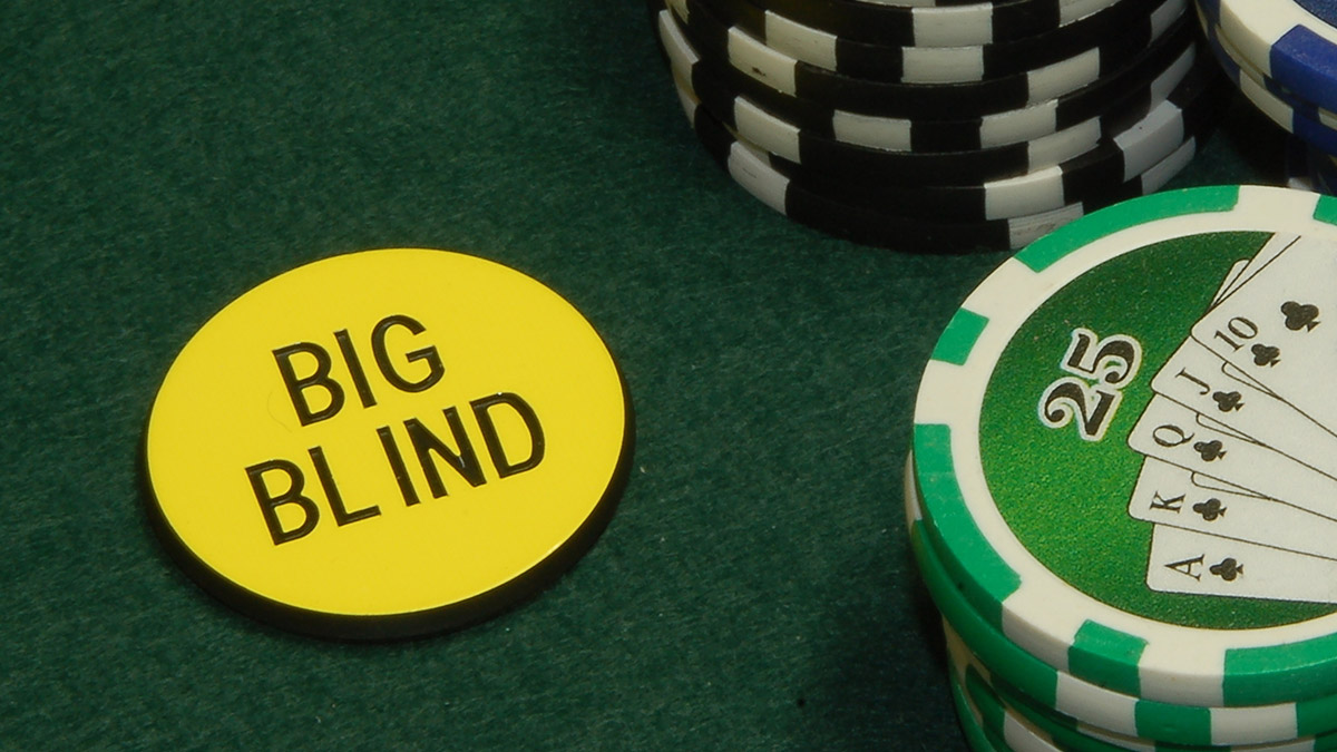 big blind poker