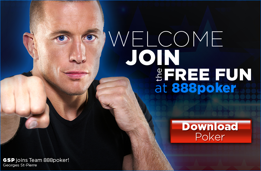 download free poker at 888poker
