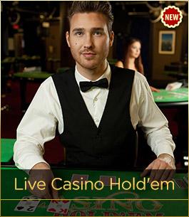 Play Live Casino Hold'em