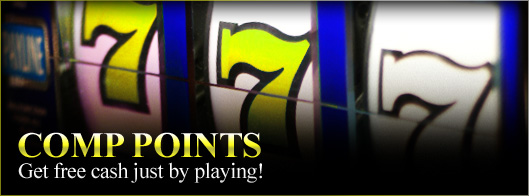 club gold casino comp points