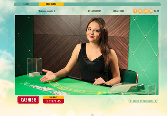 Live Baccarat screenshot #2
