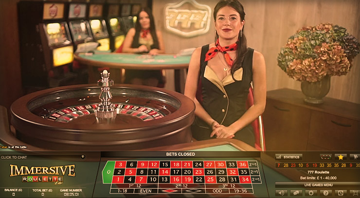 Live Roulette at 777