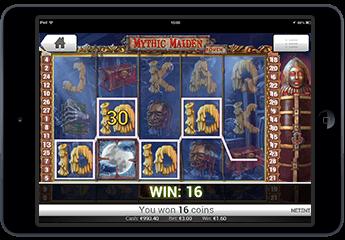 Spilleautomat mythic maiden
