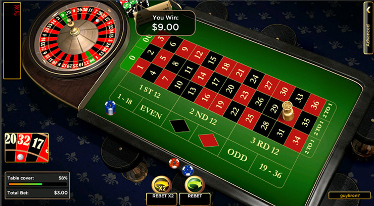 online casino roulette strategy sizzling hot free game