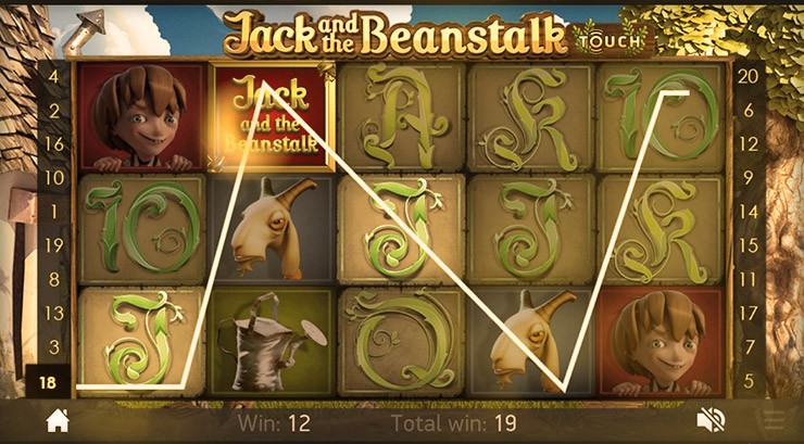 Jack and the Beanstalk Slot Game at 777 Casino