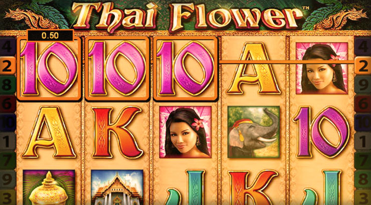 Thai Flower Slot Play Slots At 777 Casino Now