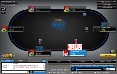 Play Online Poker | 888 Poker