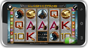 playing clash of the titans on mobile