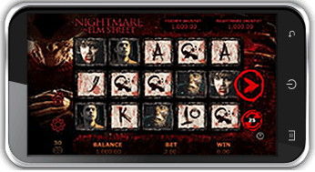 playing a nightmare on elm street jackpot on mobile