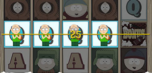 south park slot winning