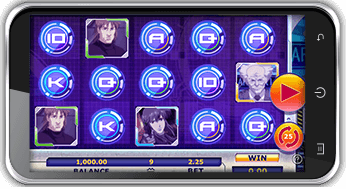 ghost in the shell mobile slot