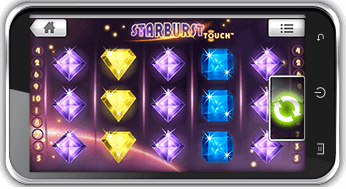 playing starburst slot playing on mobile