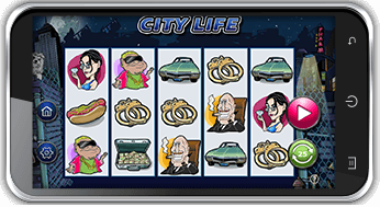 city life mobile slots game