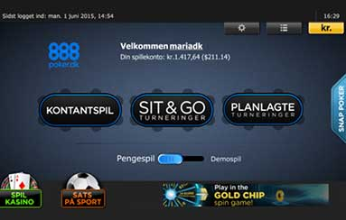 Poker på Android og IOS