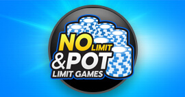 No limits and pot limits