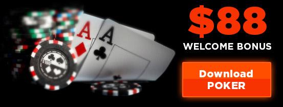 Online poker site bonus
