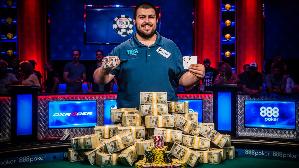 Scott Blumstein - WSOP 2017 winner