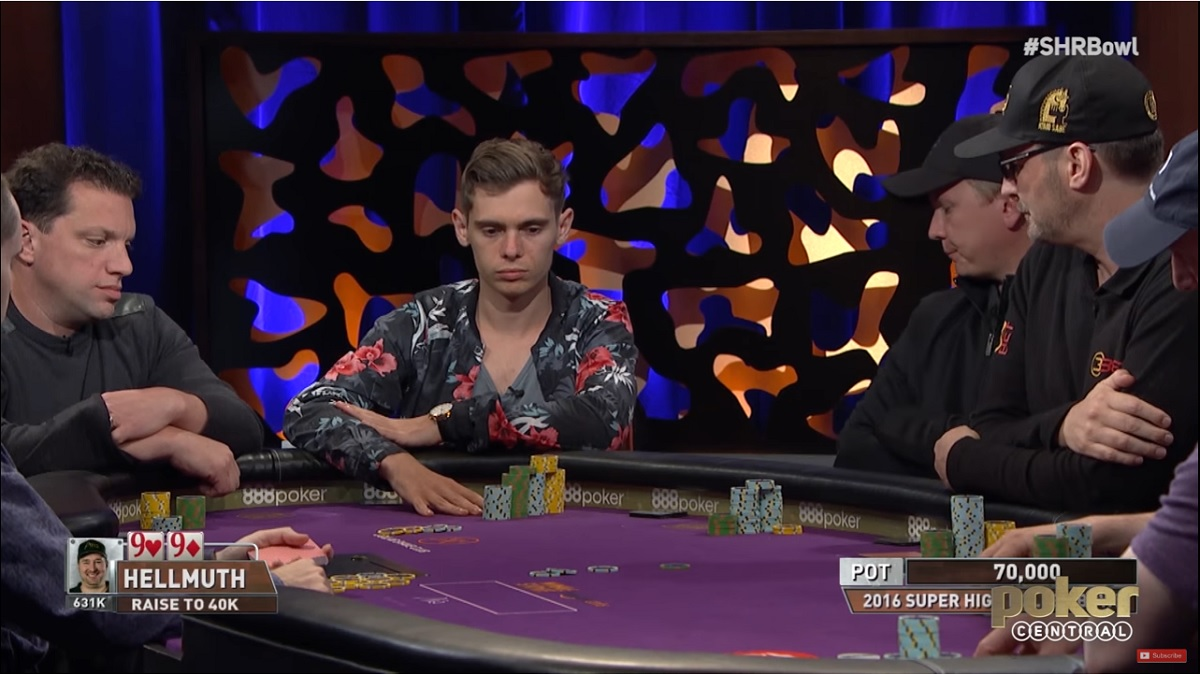 Fedor Holz vs Phil Hellmuth