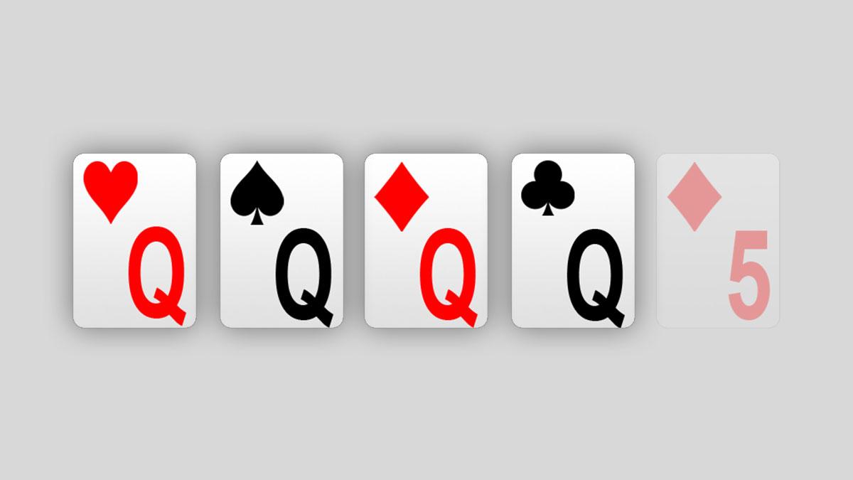best online casino de poker 4 of a kind