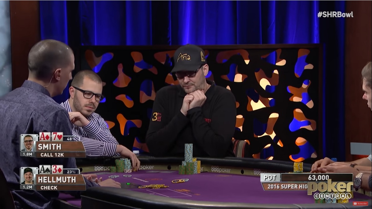 dan Sith-vs phil Hellmuth