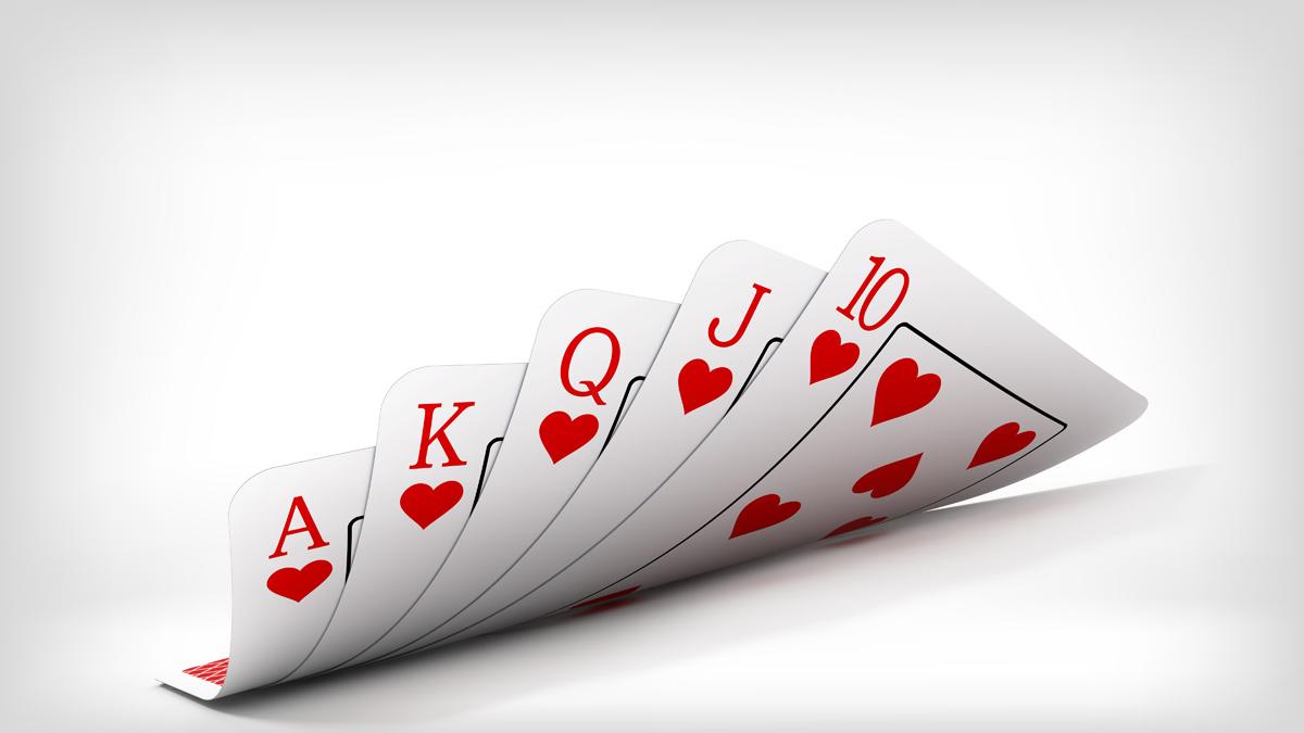 Reihenfolge Poker