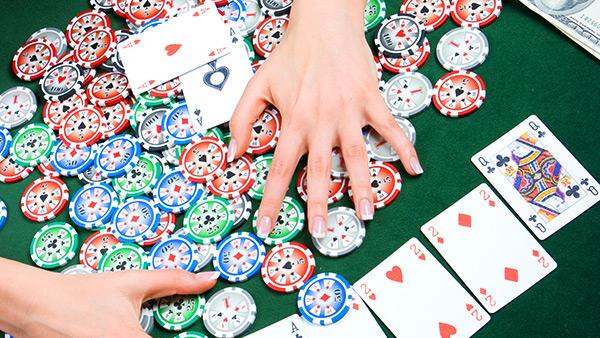 Poker pot control