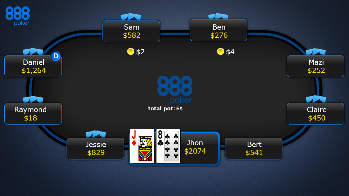 poker 888 erfahrung