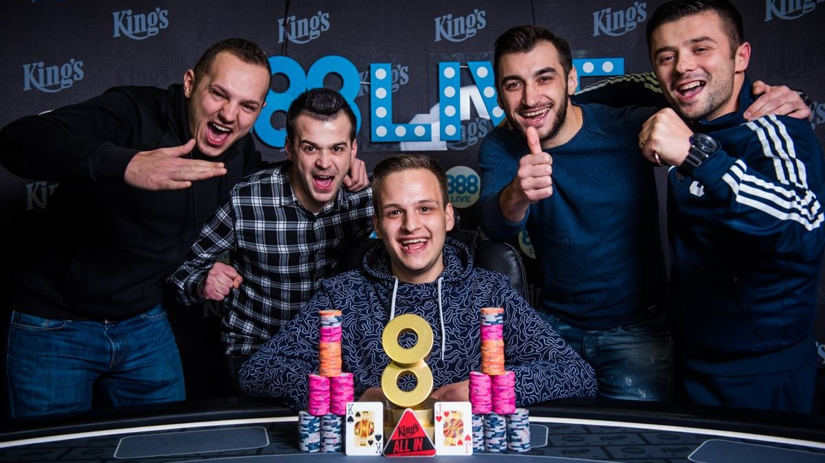888live main event winner