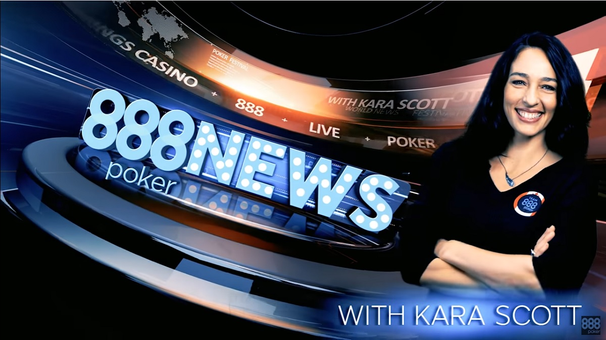 888poker news with Kara Scott