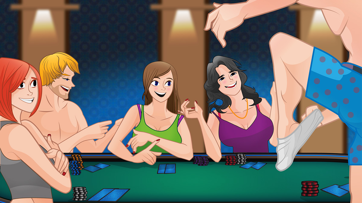 Porn strip poker game consider