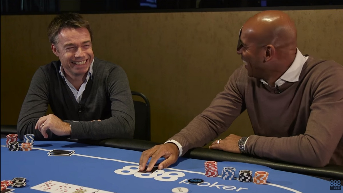 Trevor Sinclair and Graeme Le Saux