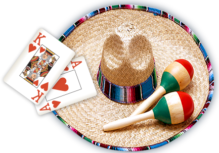 Costa Brava hat & cards