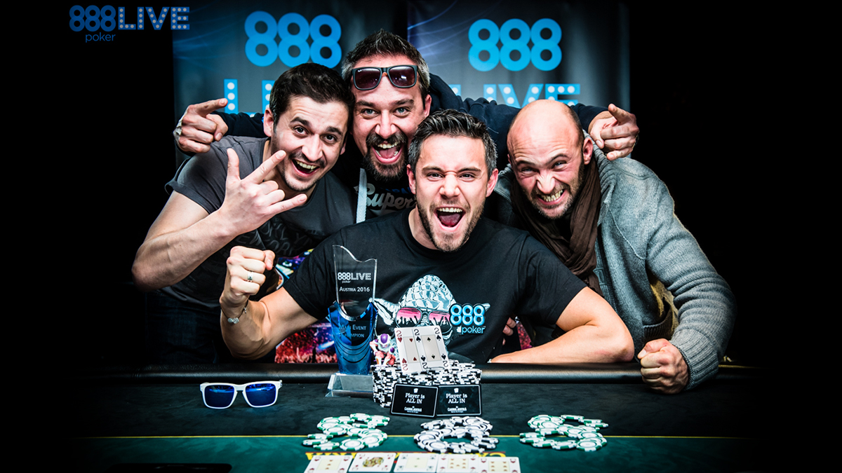 888live austria - main event winner